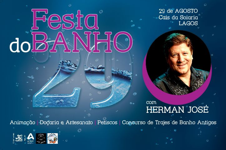 Tradicional Banho 29 regressa a Lagos com Herman José para animar as hostes