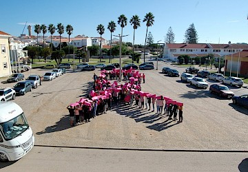 "Vila do Bispo aderiu ao movimento ""Onda Rosa"""