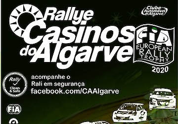 Estado de emergência obriga a adiamento do Rallye Casinos do Algarve