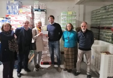 Banco Alimentar Contra a Fome do Algarve doa 20.000€ em nome do Wolf Valley Charity Fund